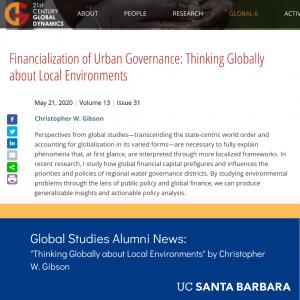 Gibson global-e article