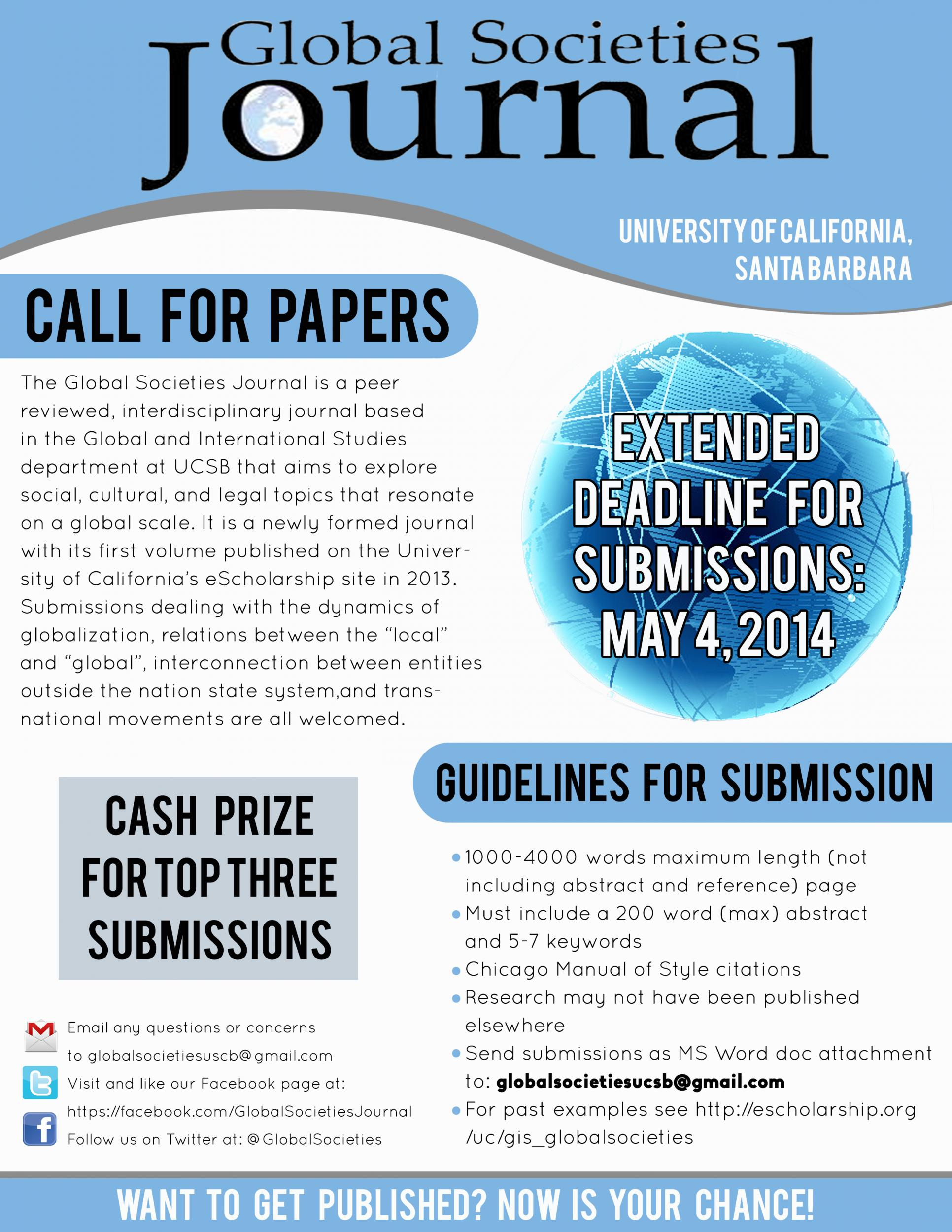journals community based research call for papers Call for paper international journal of education and research issn: 2411-5681 submission open for october - 2018 international journal of education and research (ijer) is a high quality open access peer reviewed research journal that is published by contemporary research center (crc publications.