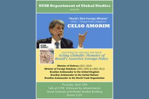 Celso Amorim flyer
